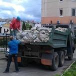 Вывоз мусора самосвалами зил, камаз. Утилизации, Новосибирск