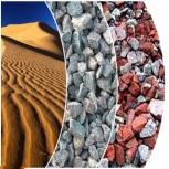 Доставка песка, щебня, пгс, отсева, чернозема. Песок, щебень, чернозем, Новосибирск