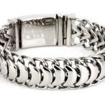 Продам шикарный мужской браслет (ширина 20 мм), Новосибирск