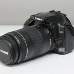 Фотоаппарат Canon EOS 400D Kit + объектив 90-300mm, Новосибирск