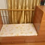 Продам детскую кроватку-трансформер, Новосибирск
