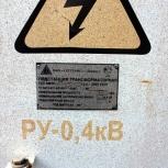 Новая, подстанция трансформаторная КТПН(М) -63(25)-10(6)/0.4-УХЛ1, Новосибирск