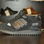 Зимние кроссовки adidas zx750, черный, размер 41 42 43 44 45, Новосибирск