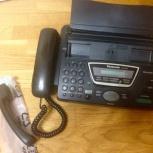 Телефон-факс Panasonic KX-FT7 в отличном состоянии, Новосибирск