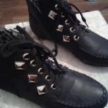продам ботинки осень весна размер 38-39, Новосибирск