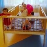 Манеж высокий для домов ребенка и детских садиков 1.35х2.75м, Новосибирск