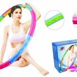Обруч для похудения dinamic W happy-hoop 2.3 кг, Новосибирск