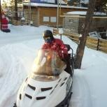 Прокат / аренда снегохода polaris widetrak 500 lx, Новосибирск