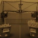Тренажер-робот для настольного тенниса, Новосибирск