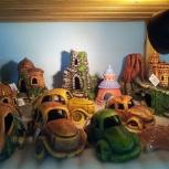 Аквариумные декорации в ассортименте, Новосибирск