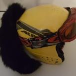 Продам детский горнолыжный шлем и маску, Новосибирск