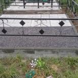 Благоустройства  мест захоронения, Новосибирск