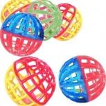 Набор N13 из 6 пластиковый мячиков, Новосибирск