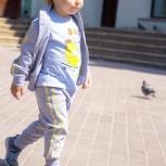 Модный интересный спортивный костюм для мальчиков от 2-х до 4-х лет, Новосибирск