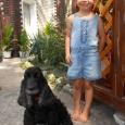 Детский джинсовый комбинезон для девочки Palomino р.110-116, Новосибирск