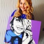 Портреты и картины в стиле поп-арт, Новосибирск