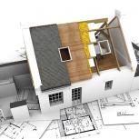 Ремонтно-строительные работы: сметы, договоры, расчеты, Новосибирск
