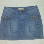 Продам джинсовую юбку, Новосибирск