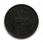 Ольденбург 1/2 грот 1846 редкость, Новосибирск