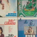 Винил J. Lennon , Toto C.,Pupo,Юнона и Авось, Новосибирск