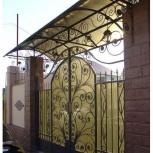 Кованые ворота, калитки, навесы, Новосибирск