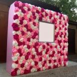 PressWall Стена из цветов в Новосибирске, Новосибирск