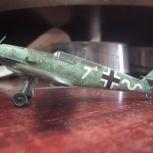 модель Messerschmitt Bf 109 E-3, Новосибирск