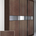Двери купе со вставками из декоративной кожи, 2шт. 26001800, Новосибирск