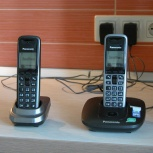 Радиотелефон Две трубки Panasonic KX-TG6411RU, Новосибирск