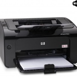 Лазерный принтер HP LaserJet P1102w (WiFi), Новосибирск