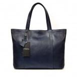 Темно-синяя кожаная сумка A. Valentino, Новосибирск