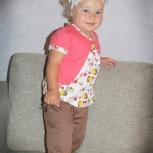 Костюм с брючками для девочек от 2-х до 4-х лет, Новосибирск
