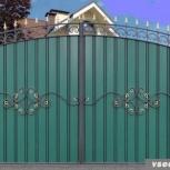 ворота, ограждения, заборы, Новосибирск