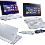 планшет Acer Iconia Tab W510 32Gb dock Silver, Новосибирск