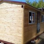 Бытовка деревянная, дачная, строительная  6х2,4х2,4, Новосибирск
