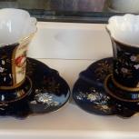 Продам новые оригинальные 2 чайные пары Германия, Новосибирск