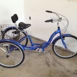 Продам велосипед трехколесный   Schwinn town and country tricycle, Новосибирск