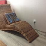 Продам ротанговое дизайнерское кресло, Новосибирск