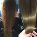 Биопротеиновое долговременное выпрямление волос!, Новосибирск