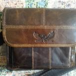 Продам мужскую кожаную сумку, Новосибирск