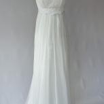 Платье свадебное Ампир, цвет слоновой кости, Новосибирск