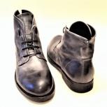 Итальянские, мужские, демисезонные ботинки, Новосибирск