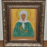Икона Святой Блаженной Матроны Московской, Новосибирск