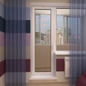 Балконный блок в панельный дом по акции! под ключ, Новосибирск