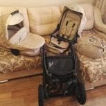 Продам коляску Bebetto Pascal 2 в 1, Новосибирск