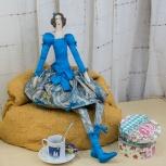 Авторская кукла Модница, Новосибирск