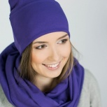 Шапка фиолетовая, Новосибирск