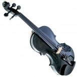 Скрипка 4/4 чёрная, Новосибирск