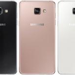 Телефон Samsung Galaxy A5 SM-A510F (2016) новые, Новосибирск
