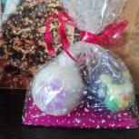 Подарочный набор новогодние шарики, Новосибирск